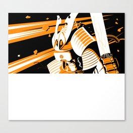 Space Shogun Canvas Print