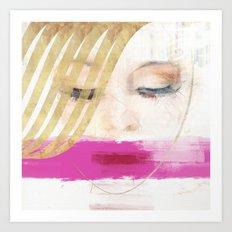 Heads 4 Art Print