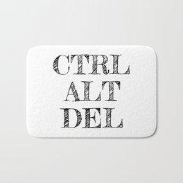 CTRL ALT DEL Bath Mat