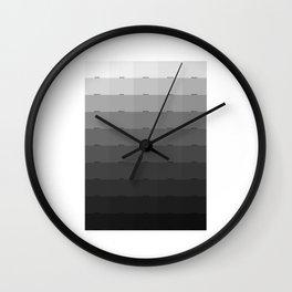 50 Shades of Gray Wall Clock