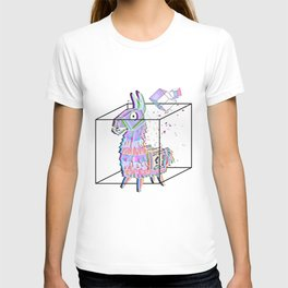 Minimal fortnitellama T-shirt
