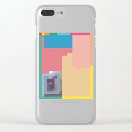 Sequence Three Times Clear iPhone Case