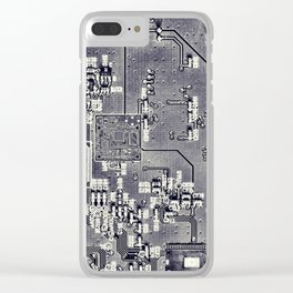 Front Side Bus Ride Clear iPhone Case