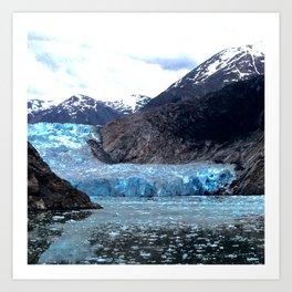Hollowing Glacier Art Print