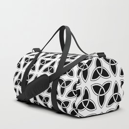 celtic trinity knot - triquetra pattern Duffle Bag