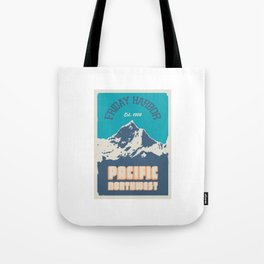 Friday Harbor. Tote Bag