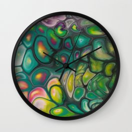 Fluid Color Wall Clock