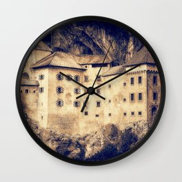Old Castle Wall Clock