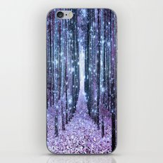 Magical Forest Lavender Periwinkle iPhone & iPod Skin