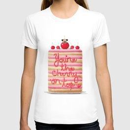 Cherry Pug T-shirt