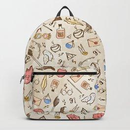 Wizarding Pattern Backpack