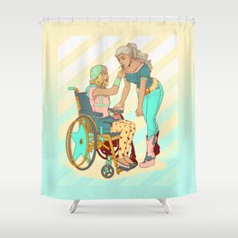 Gyro and Johnny Shower Curtain