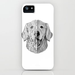 Golden Retriever PNG, Dog Print, Print for T shirt, Golden Retriever Gift, Subway Art, Golden Retrie iPhone Case