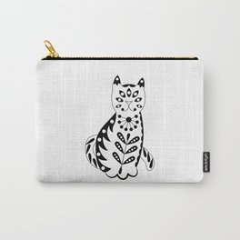 Patterned cat-1 Carry-All Pouch