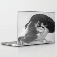 notorious Laptop & iPad Skins featuring Notorious B.I.G by tyler Guill