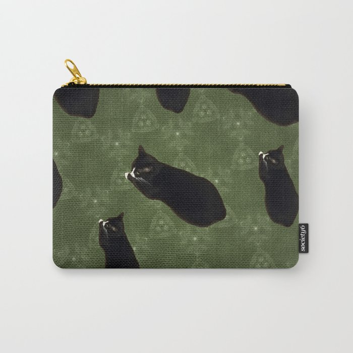 Cat photo pattern Carry-All Pouch