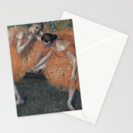 Edgar Degas - Two Dancers Stationery Cards
