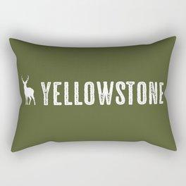 Deer: Yellowstone Rectangular Pillow