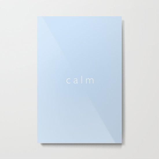 Calm Metal Print