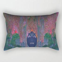 Glitch Ritual II Rectangular Pillow
