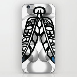 Heiltsuk Eagle & Raven Feathers iPhone Skin