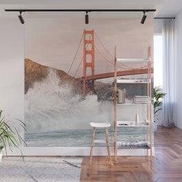 Baker Beach, Golden Gate Bridge Wall Mural