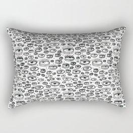 Eye Lash Rectangular Pillow