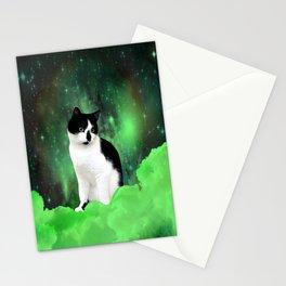 Gypsy Da Fleuky Cat and the Kitty Emerald Night Stationery Cards
