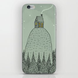 'The house on the hill' iPhone Skin