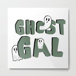 Ghost Gal Metal Print