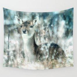 Roe deer Wall Tapestry