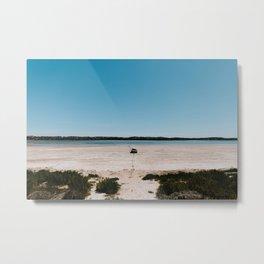 Australia travel photo - Coorong National Parc - landscape boat  Metal Print