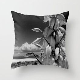 Dare to Bloom. Throw Pillow