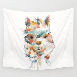 + Watercolor Alpaca + Wall Tapestry