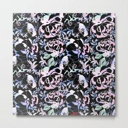 Pastel ornamental floral pattern Metal Print