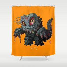 Hedorah Shower Curtain