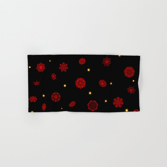 Fire in the Night Hand & Bath Towel