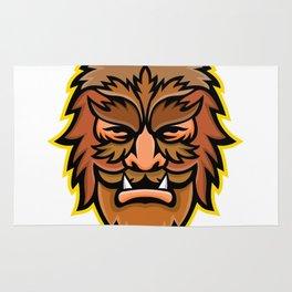 Circus Wolfman or Wolfboy Mascot Rug