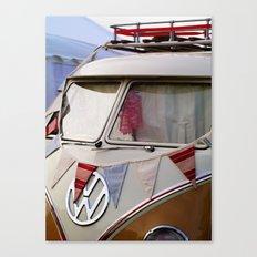 Summer Festival Split Screen VW Dub Canvas Print