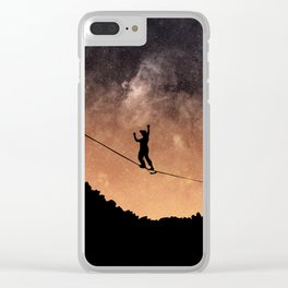 Slackline - High Space Clear iPhone Case