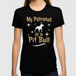My Patronus Is A Pit Bull Dog  T-shirt