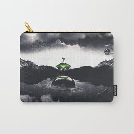 The Landing A Zebes Surrealism Carry-All Pouch