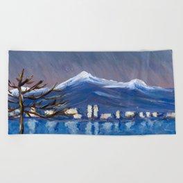 Monet Study 2 Beach Towel