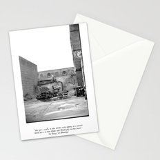 The City 3: Brooklyn In The Back Stationery Cards