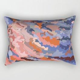 Lunar Attraction Rectangular Pillow