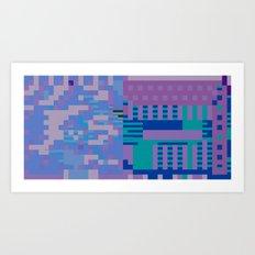 tcanvasmosh18x2a Art Print