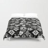 lunar Duvet Covers featuring Lunar Gems by michiko_design