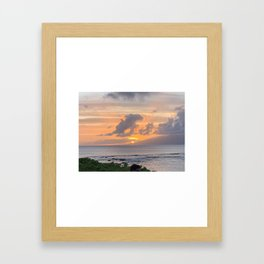 Hawai'ian Sunset No.2 Framed Art Print
