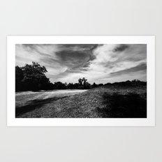 Hopewell Earthworks National Park #! Art Print