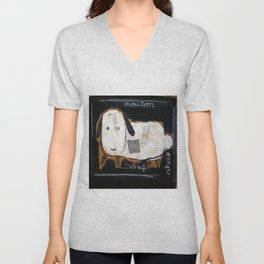 sheep Unisex V-Neck